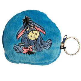 Geldbörse - Kinder Geldbeutel Kinderportemonnaie Esel Disney Blau 7,5x7,0x1,5 cm