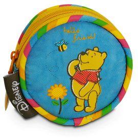 Kinderbörse Winnie The Pooh Disney taubenblau Motiv Winne The Pooh 8x3 cm