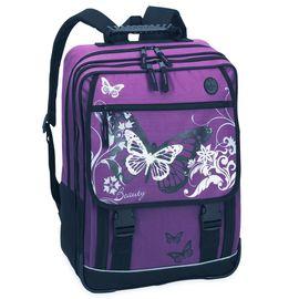 Schulrucksack Fabrizio Beauty Schultasche Rucksack violett/ lila 34x43x16 cm