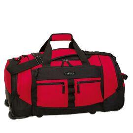 Reiserollentasche Trolley-Tasche THE ICEWALL Polyester rot/schwarz 68x38x32cm