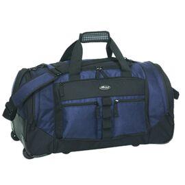 Reiserollentasche Trolley-Tasche THE ICEWALL Polyester marineblau/schw.68x38x32cm