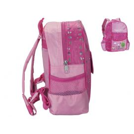 Kinderrucksack Rucksack Peppy`s Design IN THE FOREST rosa/pink 25x26x10 cm