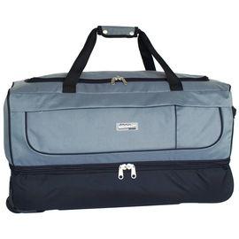 Reise-Rollentasche SOUTHWEST BOUND  Tasche schwarz/hellgrau 67x38x32 cm