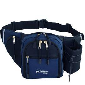 Hüfttasche Gürteltasche Bauchtasche Southwest Bound marineblau/schwarz 19x16x5cm