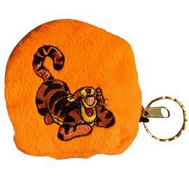 Geldbörse - Kinder Geldbeutel Kinderportemonnaie Tiger Disney Orange 7,5x7,0x1,5 cm