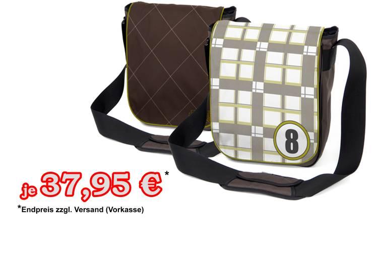 Scot 8 Zipitbag Laptoptasche / Schultertasche